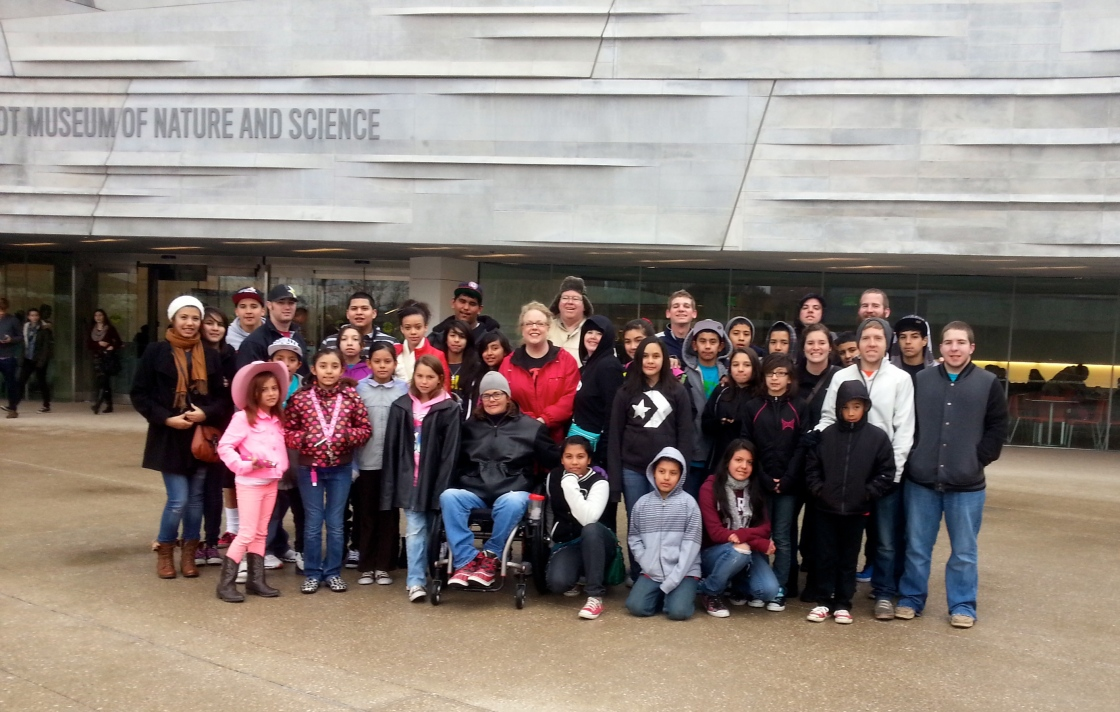 AUYD Visits the Perot Museum!