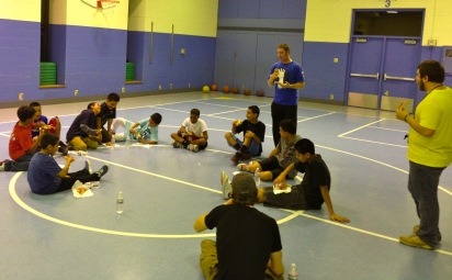 1BC Boys Tuesday Meeting!