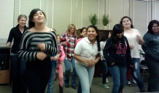 1BC Girls Club Dancing!